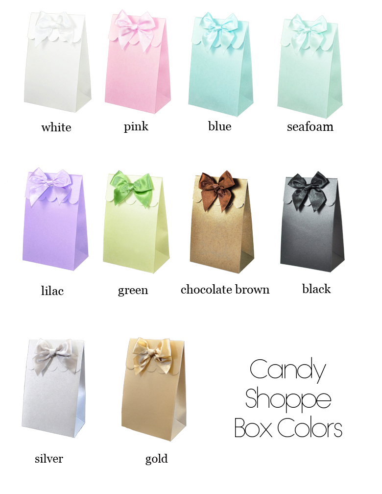 Candy Shoppe Box Colors