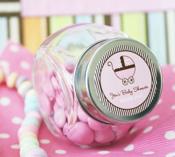 details about 24 personalized custom baby shower announcement favor