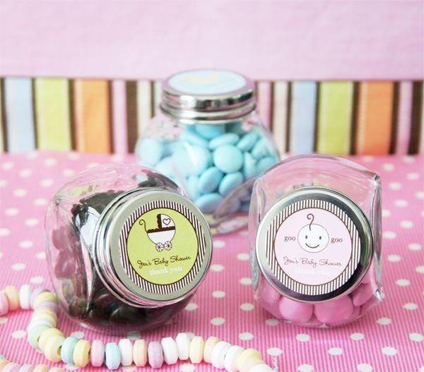 Theme Wedding Personalized Candy Jars (set Of 24