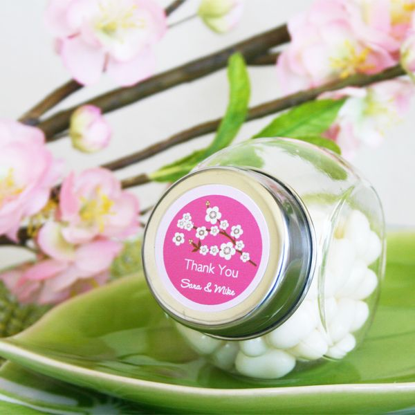 Wholesale Wedding Favors Party By Event Blossom Personalized Cherry Candy Jars