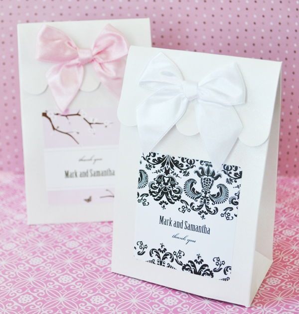 Wedding Favor Bags Or Boxes : ... Themed Wedding Bridal Shower Candy Buffet Favor Bag Box Boxes eBay