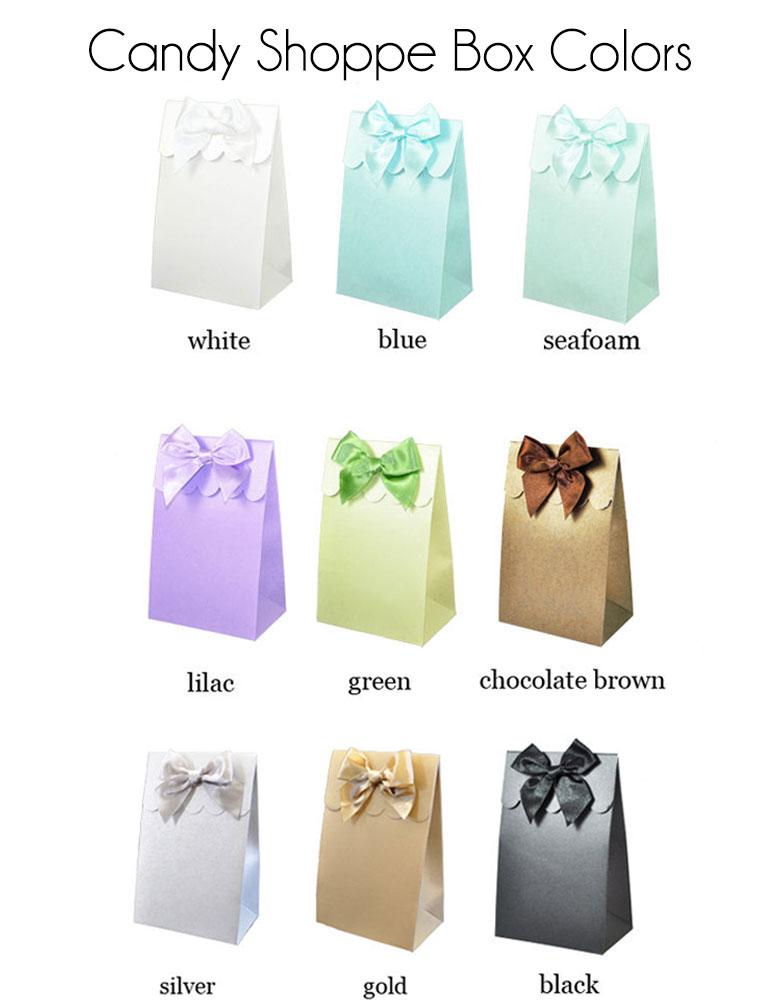 Sweet Shoppe Candy Boxes - Vintage Wedding (set of 12)  sc 1 st  Event Blossom & Wholesale Wedding Favors Party Favors by Event Blossom Sweet ... Aboutintivar.Com
