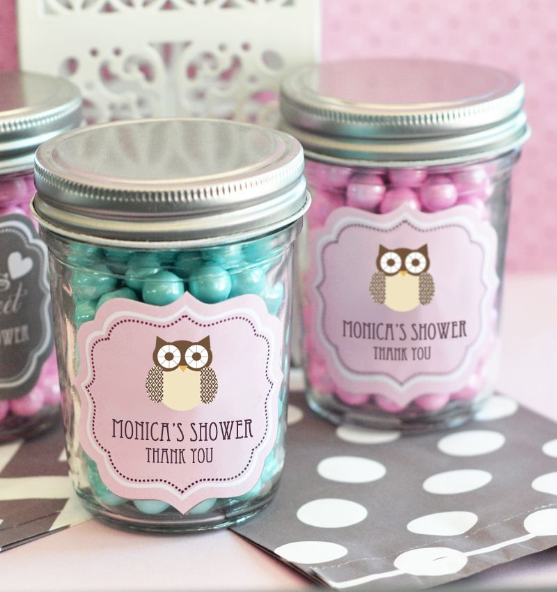 favors party favors by event blossom baby animal mini mason jars