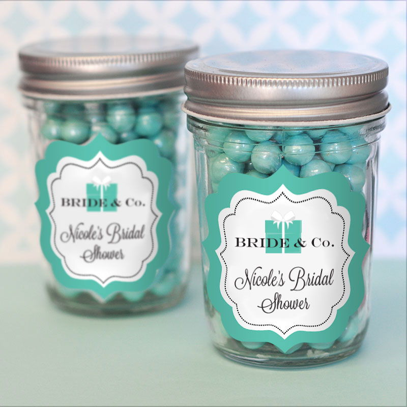 wholesale wedding favors party favors by event blossom bride co personalized mini mason jars. Black Bedroom Furniture Sets. Home Design Ideas