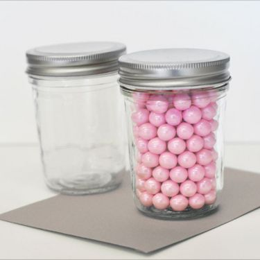 wholesale wedding favors party favors by event blossom diy blank mini mason jars. Black Bedroom Furniture Sets. Home Design Ideas
