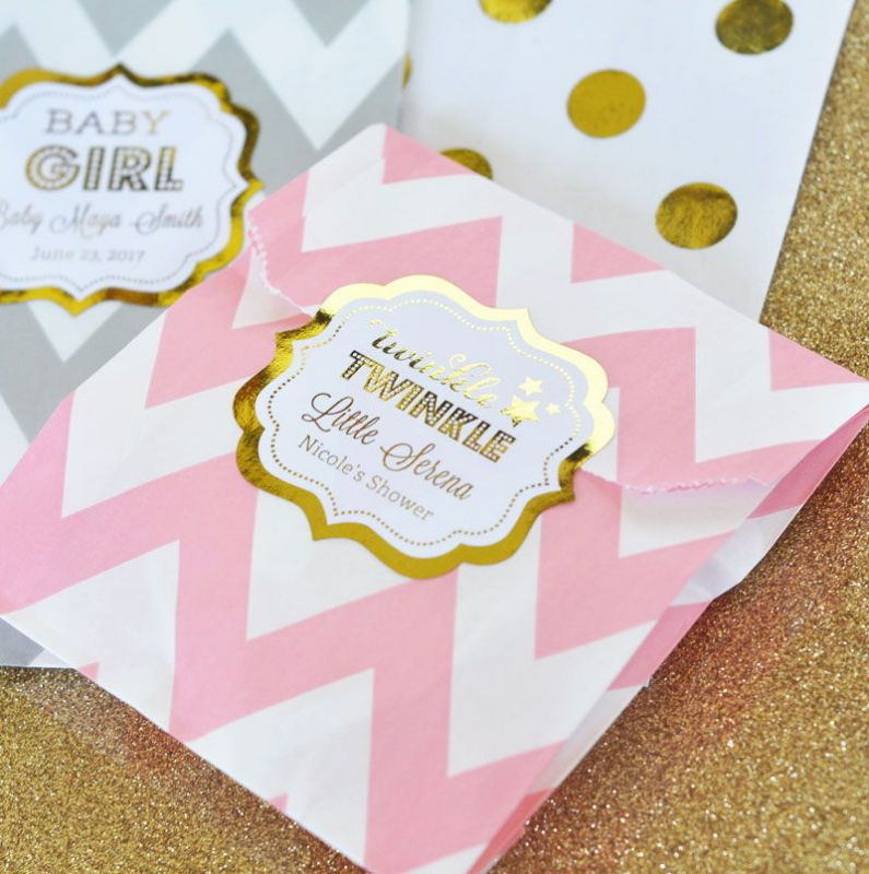Superb Baby Shower Favors · Foil Baby Shower Favors ...