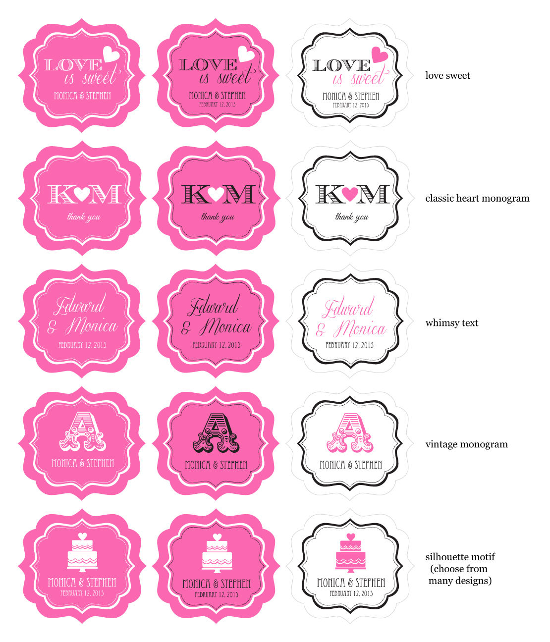 Wholesale Wedding Favors, Party Favors, by Event Blossom MOD Theme ...