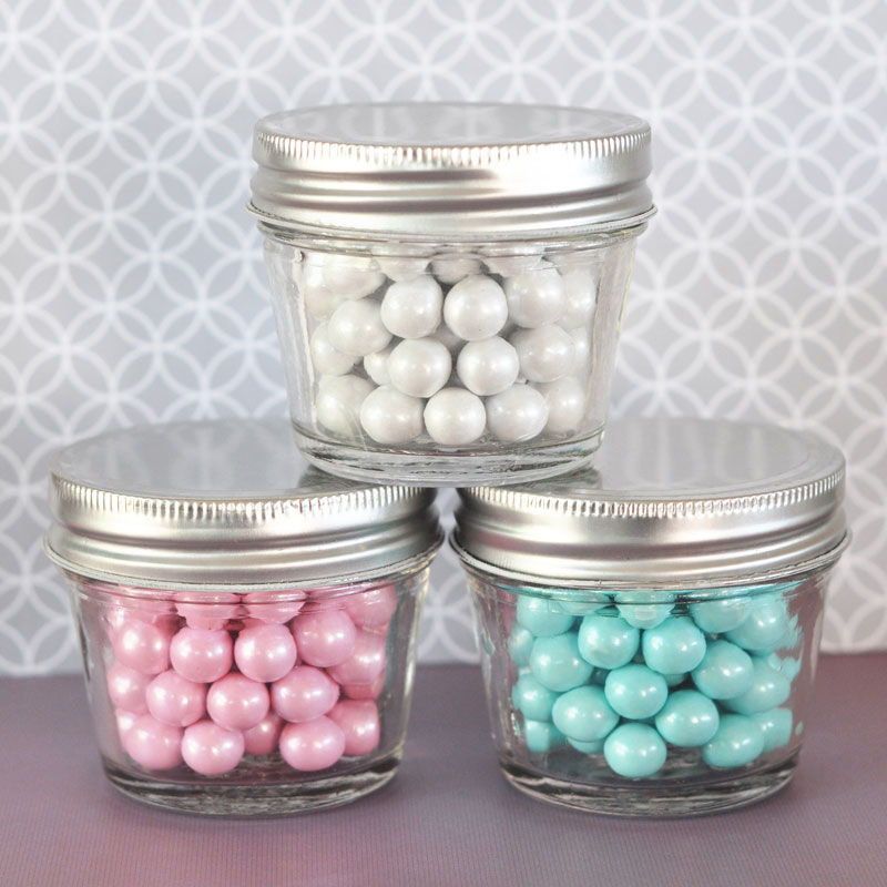 Wholesale Wedding Favors Party Favors By Event Blossom Diy Blank Small 4 Oz Mason Jars