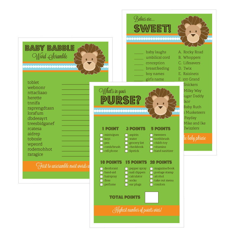safari baby shower games wholesale wedding favors party favors by
