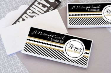 personalized new years eve party candy wrapper covers