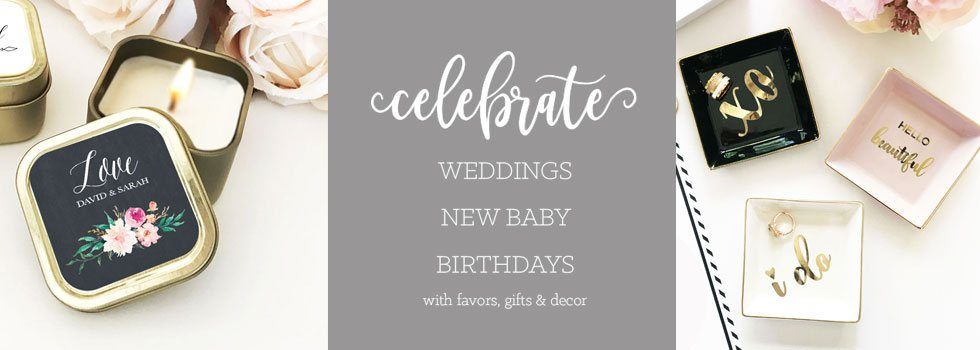 celebrate a wedding new baby birthday