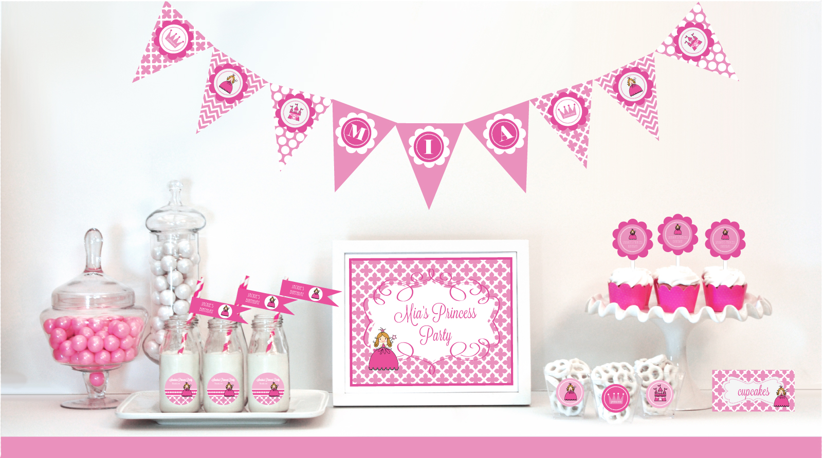 Princess Party Supplies and Favors